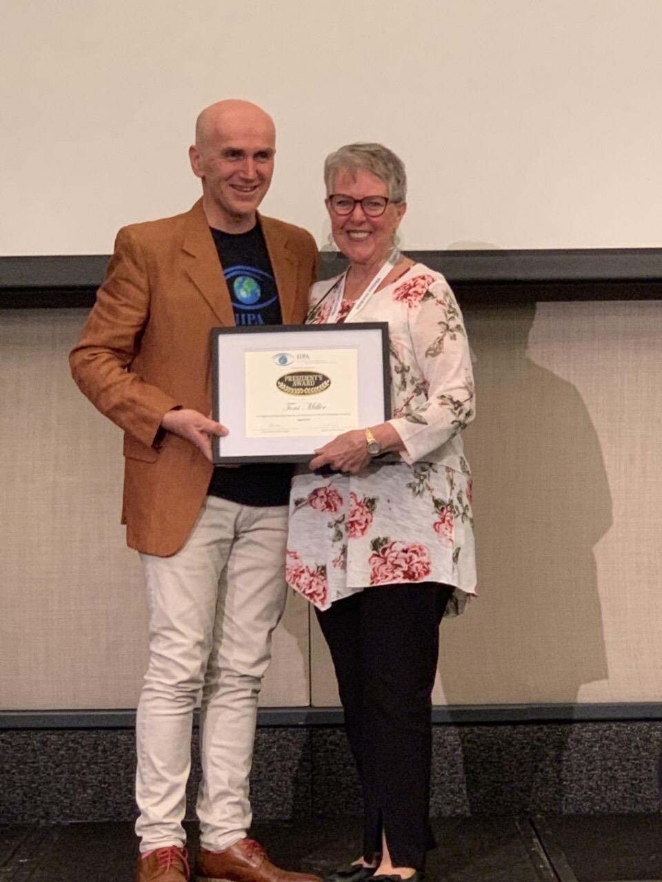 President's Award - Toni Miller