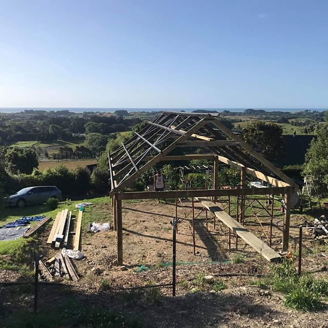 Latest hobby project #chapel #weddinghire #newzealand @simplicity_wedding_hire  This chapel overlooks #kapitiisland and has a green mountain backdrop nestled in the magical #maisondefleurs estate