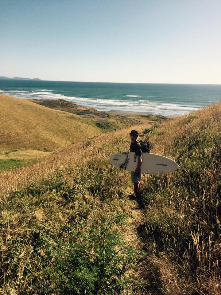 Originally from Waikanae, Jamie has been a roofer in New Plymouth for nearly 7 years, and he was  drawn to the area for the regions' great surf breaks.