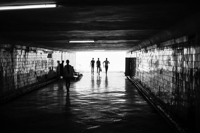 Maxim Gorky metro station. September 2, 2018. Tashkent Uzbekistan. . . . . . . . . . #Uzbekistan #filmphotography #travel #metro #contrast #subway #Tashkent #travelphotography #filmisnotdead #film #35mm #shadow #art #adventure #grain #asia