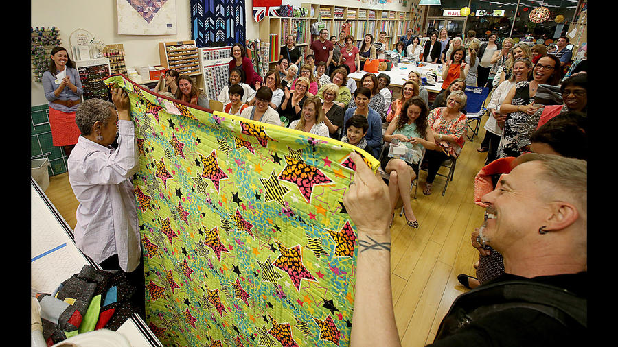 Modern quilters are putting a fresh spin on an old tradition (Los Angeles Times)