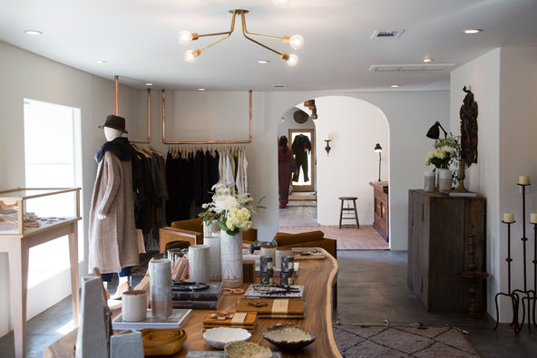 In the hippie stronghold of Ojai, a new design store for modern bohemians (New York Times)