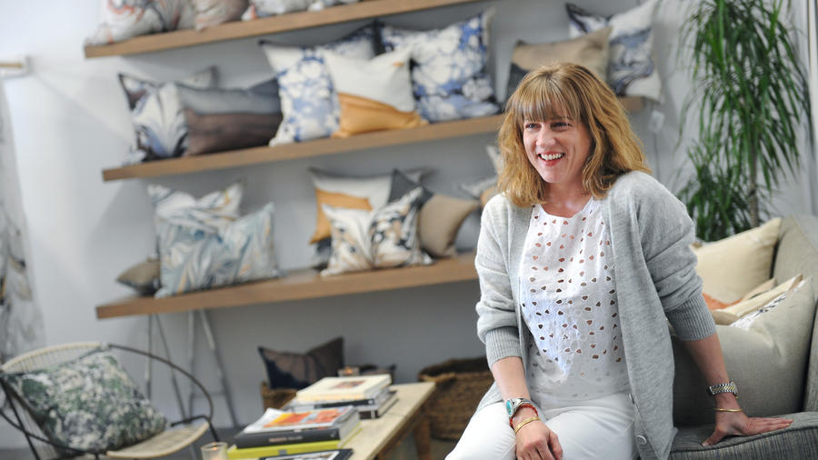 This L.A. designer is putting an elegant spin on the DIY craft of marbling (Los Angeles Times)