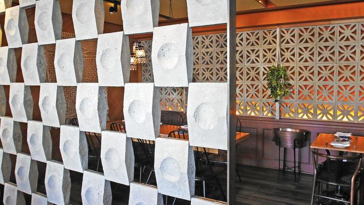 See how Midcentury 'breeze blocks' are being used in contemporary L.A. restaurant design (Los Angeles Times)