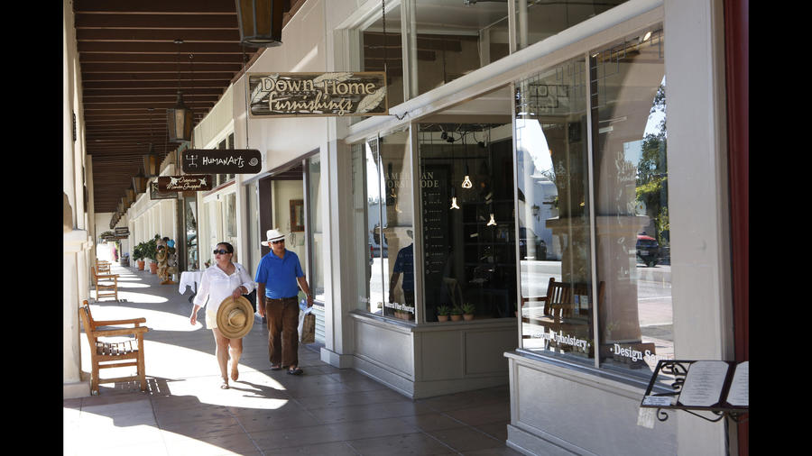Ojai shops reflect the town's artistic soul (Los Angeles Times)