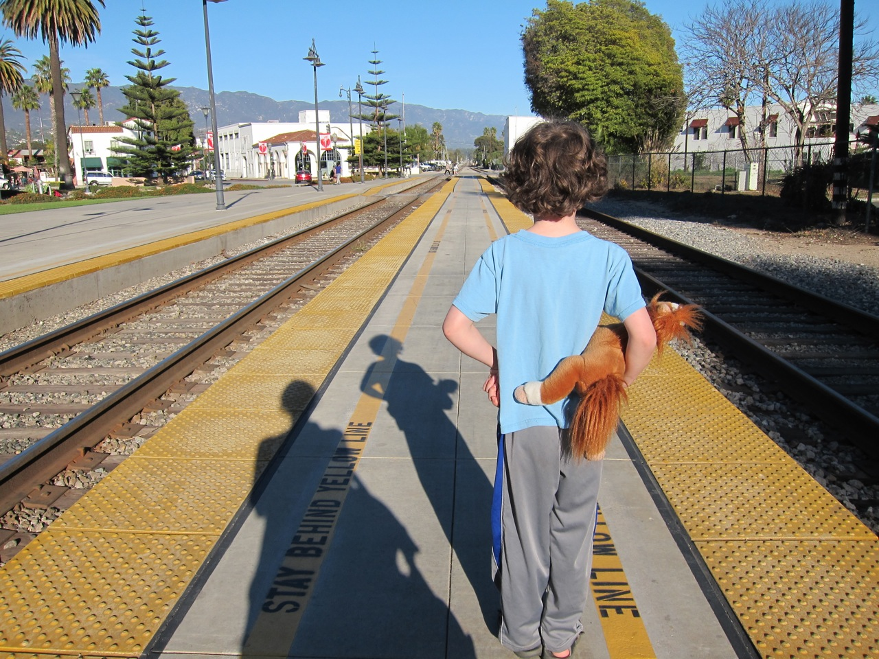 My little Larry David doesn't like my stop & chats (Kveller)