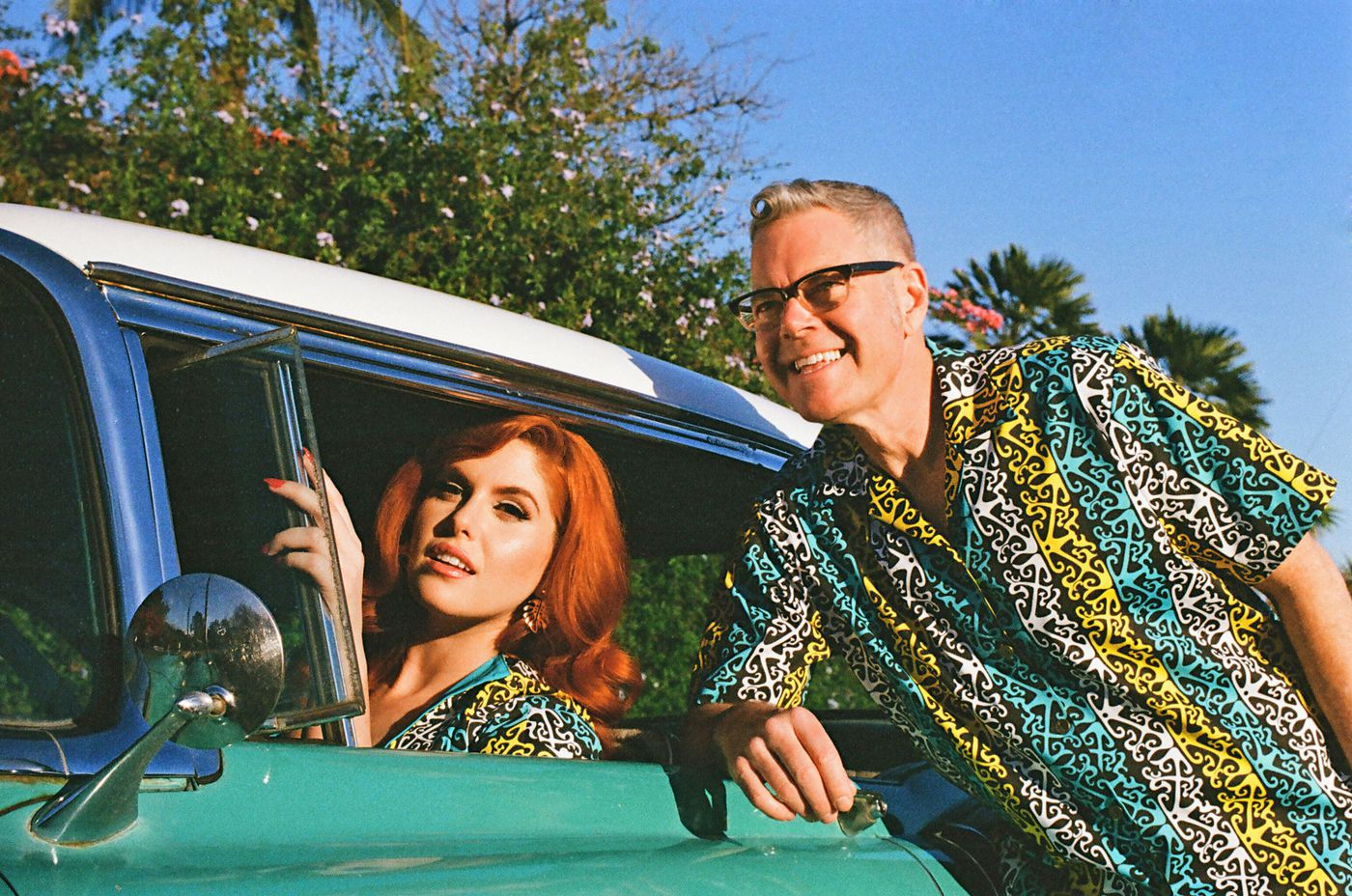 Charles Phoenix, Pinup Girl Clothing partner on a capsule collection with '50s flair (Los Angeles Times)