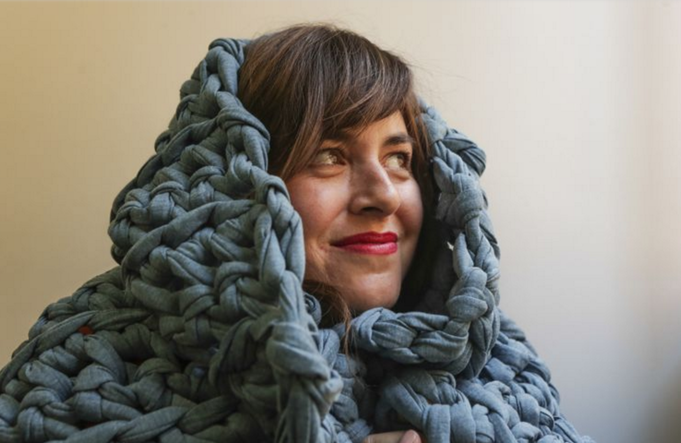 You've heard of weighted blankets? This L.A. mom is perfecting the trend (Los Angeles Times)