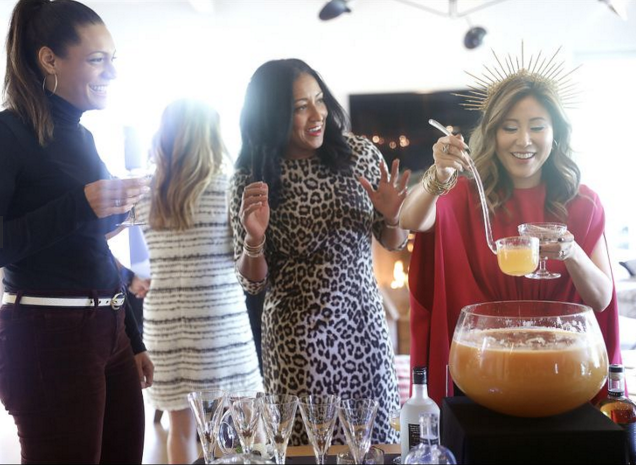No one throws a New Year's Eve party like this L.A. spirits exec (Los Angeles Times)