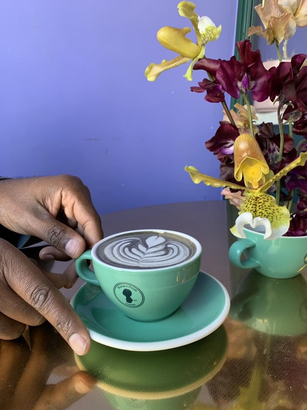 Bloom & Plume Coffee is bringing some color to the cafe game (Los Angeles Magazine)