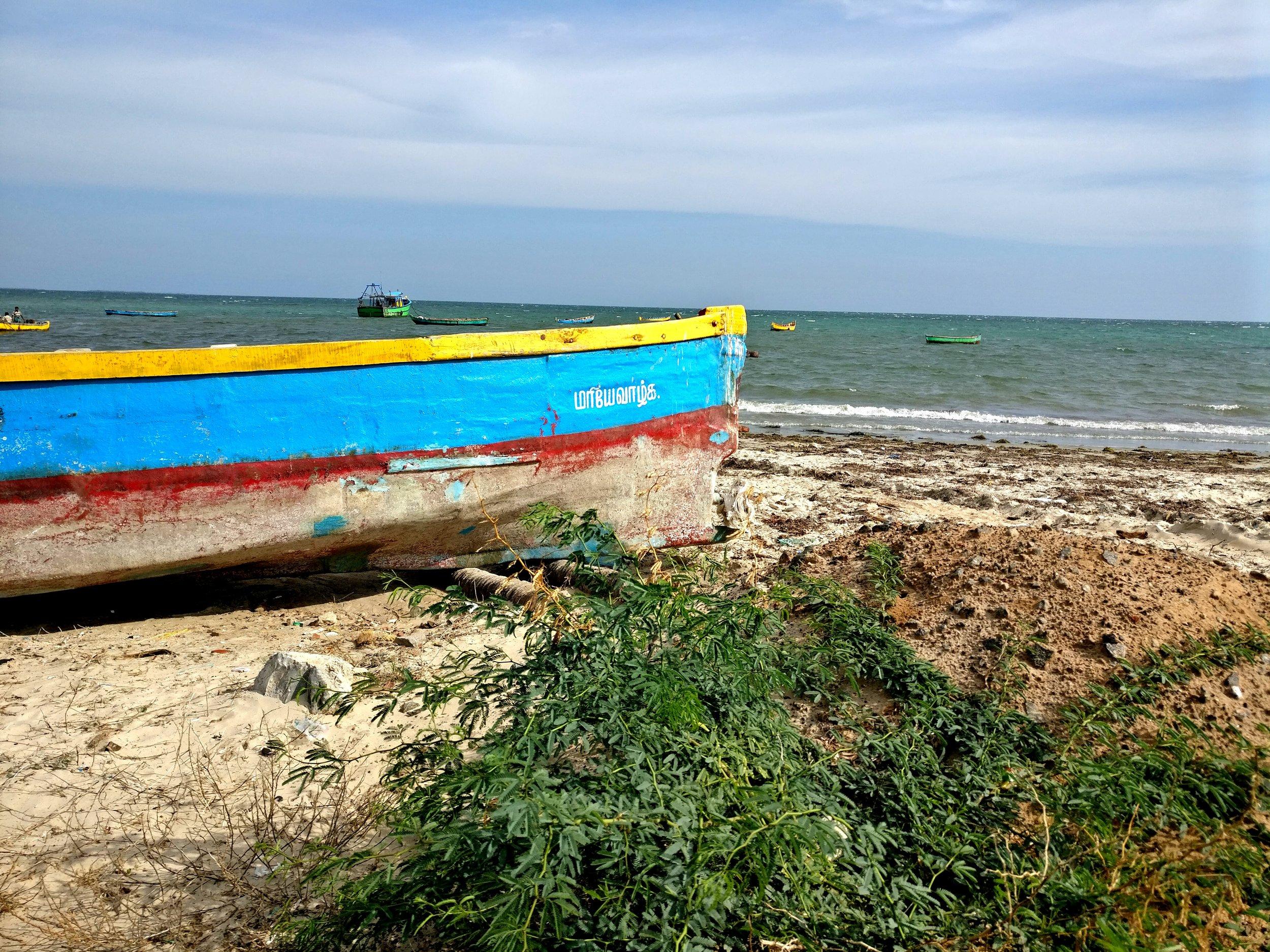 Kilakkarai Harbor (2017). Photo by Kalyani Ramnath.