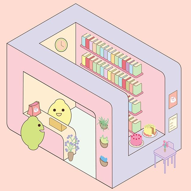 Sitting there like a lemon. #digitalart inspired in @chanteii_ and @cutearteveryday  #vectorart #kawaii #jothemonster #cuteshop #isometry #illustratorsoninstagram #contemporaryart #graphicdesigndaily #artoftheday🎨 #sillyart #artforkids #kidlitillustration #instartist #dailyinspiration