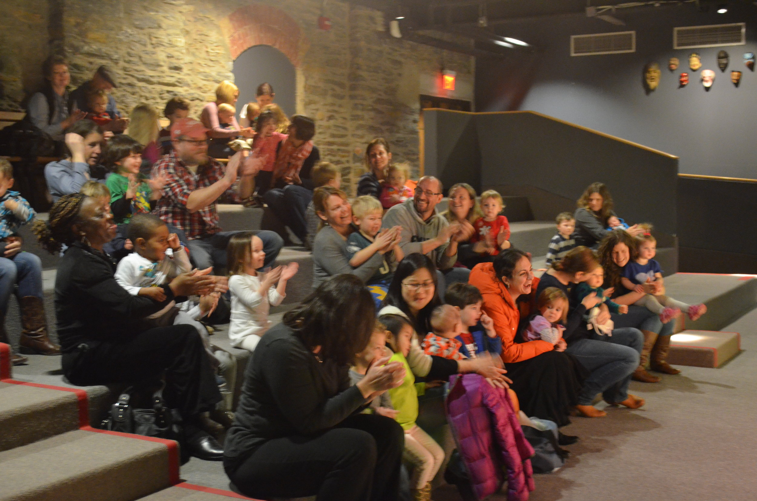 David's shows are engaging for kids ages 2-6. (And also a lot of fun for big people, too.)