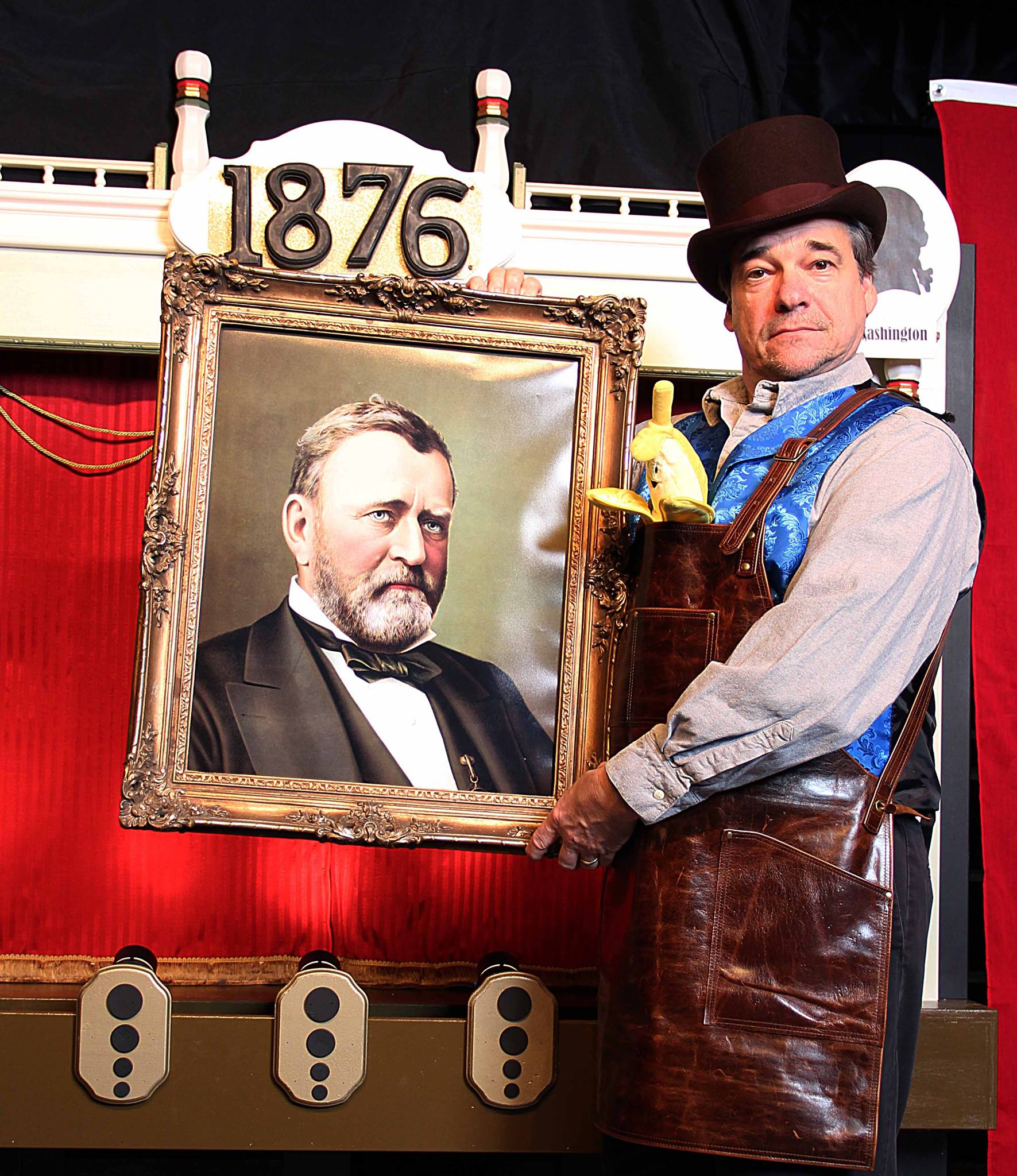 The Kimmel Presents President Ulysses S. Grant and the Great Centennial Banana Mystery at PIFA.