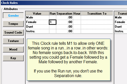 Clock Rule-Female Separation 2