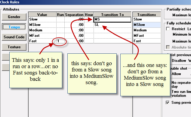 ClockTempo Rules