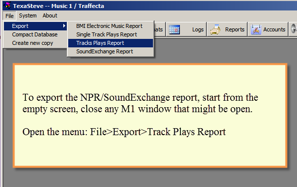 Music 1's NPR SoundExchange report