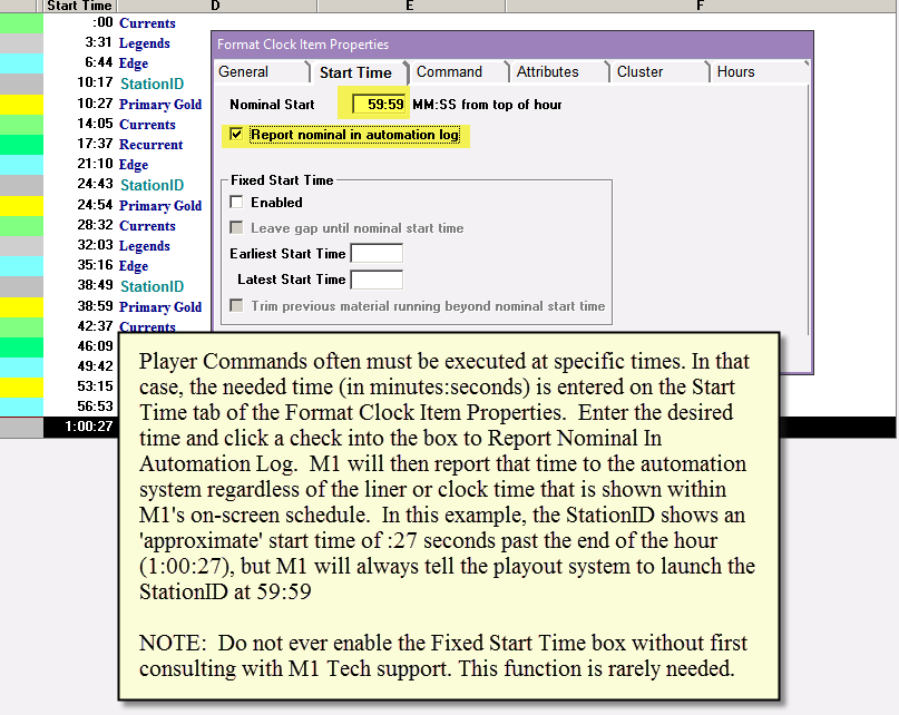 Player Commands - Overview 2