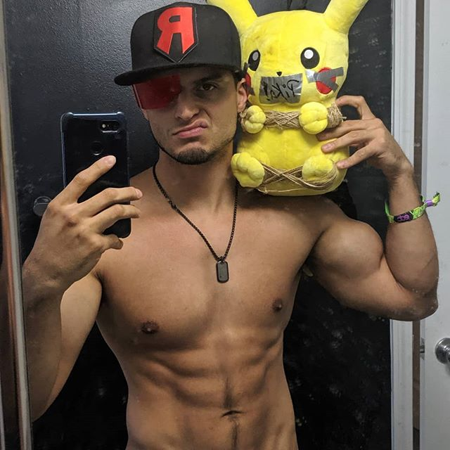 Felt cute, might steal your Pokemon later, IDK. (Definitely deleting, tho. Y'all can't know my mirror stay dirty like this.) Hey Ash, Pikachu is coming back with me to Team Rocket HQ in Vegas. Want him back, you're gonna have to fight for him under the electric sky. My Sharpedo will be waiting. See your twerp ass at EDC! Team Rocket, blasting off at the speed of light... 🚀