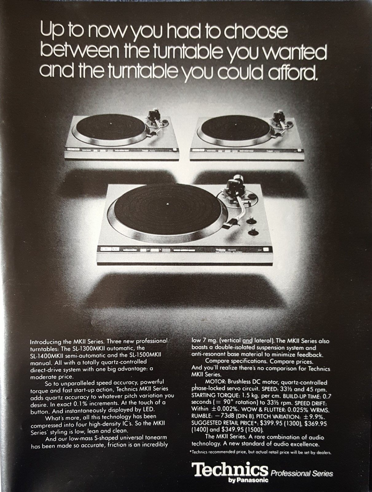 Print ad circa 1977.