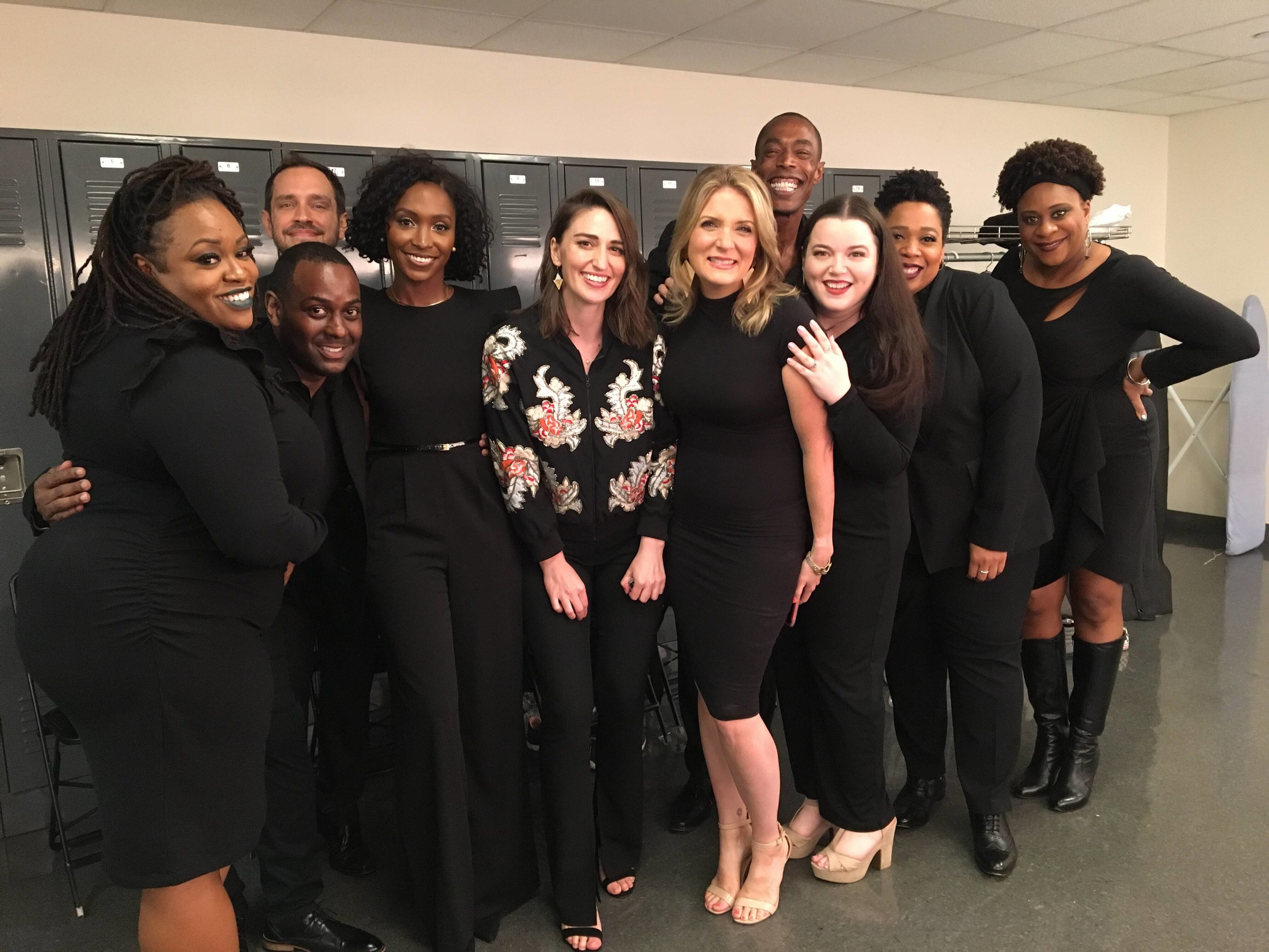 Backstage at Lincoln Center with Sara Bareilles