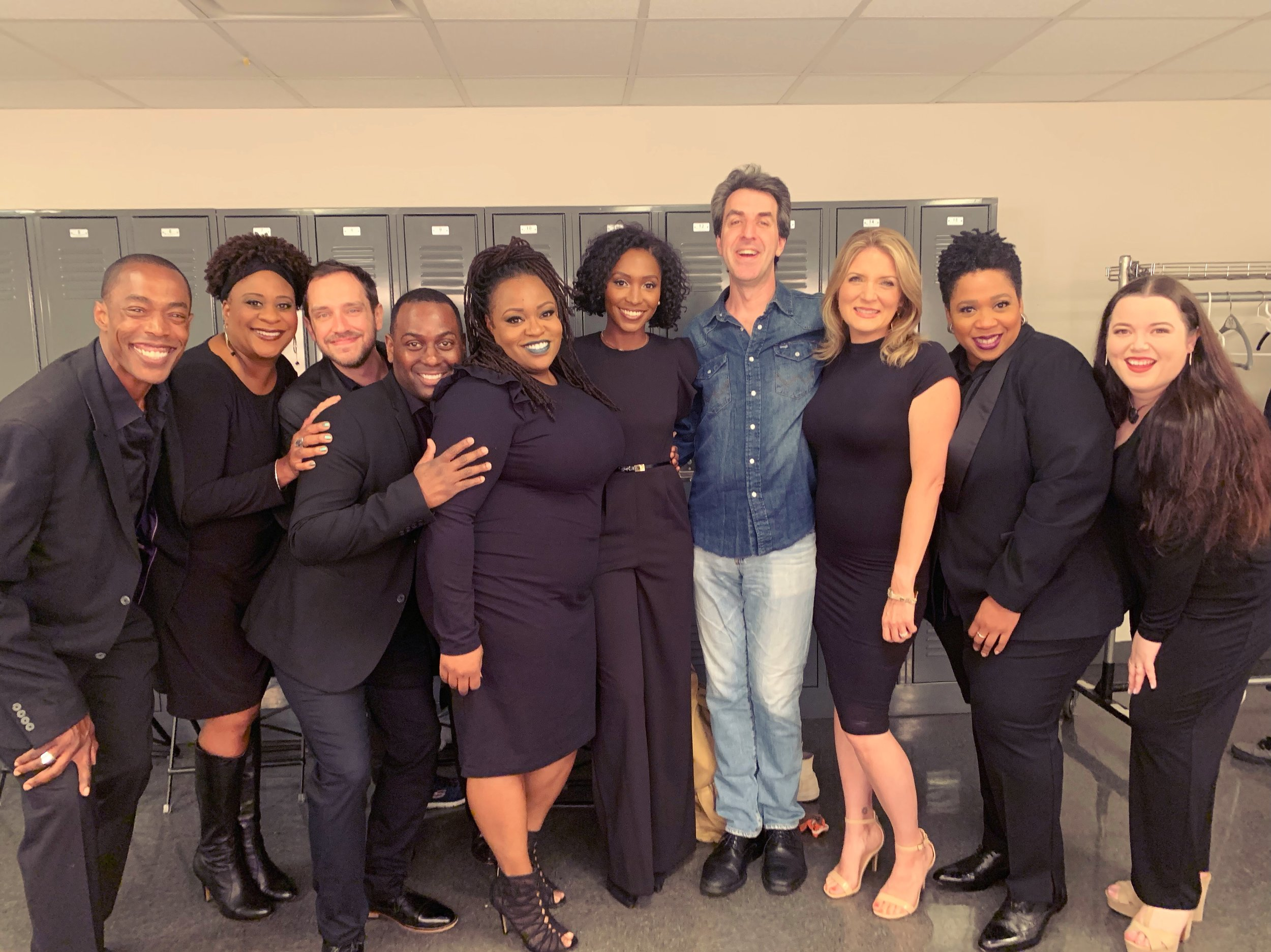 Backstage at Lincoln Center with Jason Robert Brown