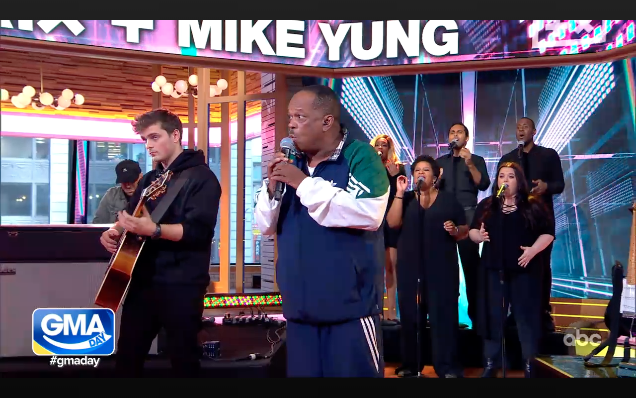 Good Morning America  with Martin Garrix and Mike Yung