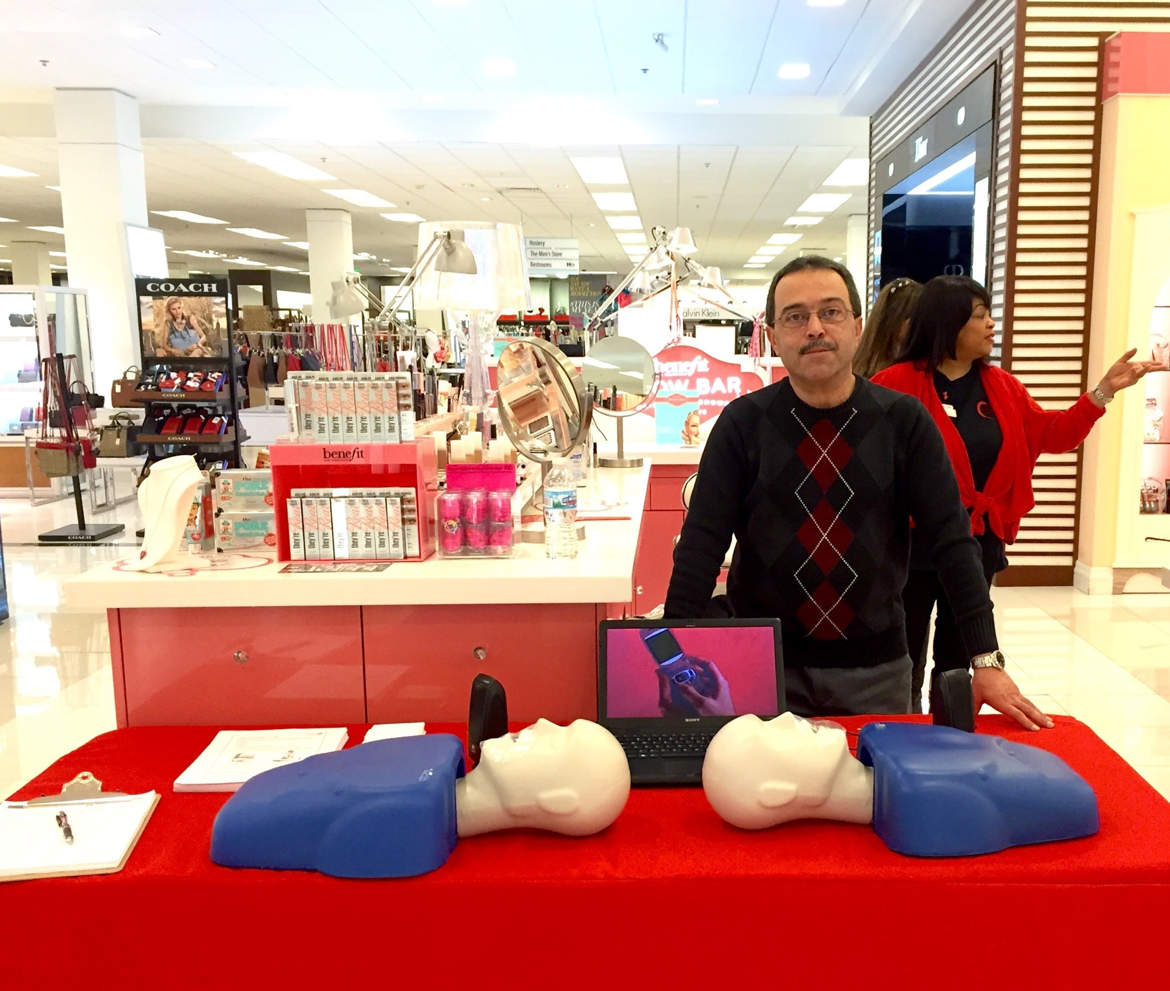 Hands-Only CPR Can Save Lives  - Most people who experience cardiac arrest at home, work or in a public location die because they don't receive immediate CPR from someone on the scene.If you see an adult suddenly collapse, call 911 and push hard and fast in the center of the chest.Immediate CPR can double or even triple a person's chance of survival.Learn More