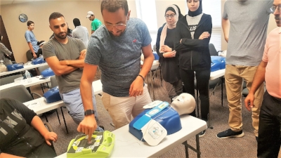 Fun-filled CPR class hosting AAHI