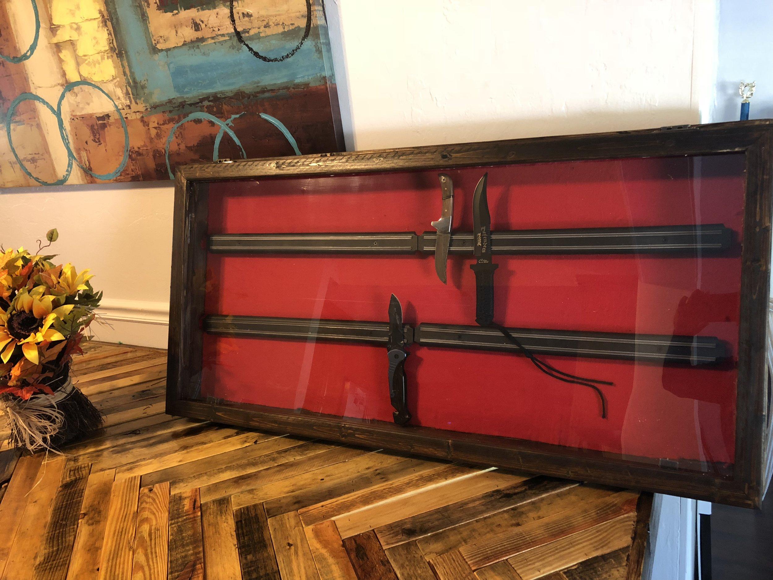 Magnetic Shadow Box