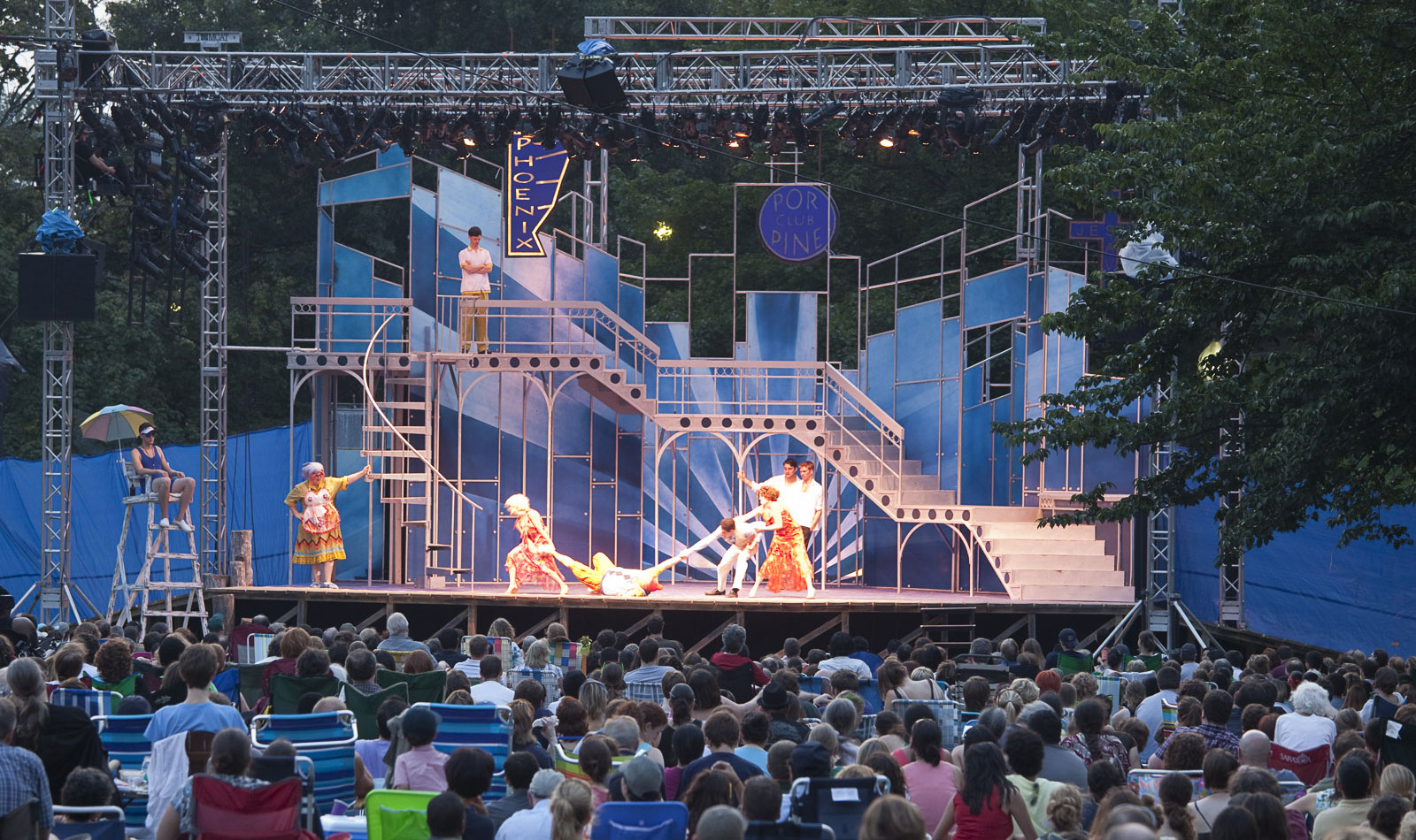 Culture embraces everyone. - We want culture to be inclusive and welcoming to everyone – as creators, participants,and audiences – and free of barriers, whether physical, economic, or social.Photo credit: Shakespeare in the Common, Boston
