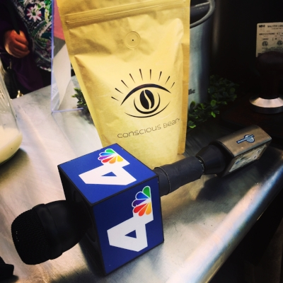 Conscious Bean #brewingthelove with NBCLA