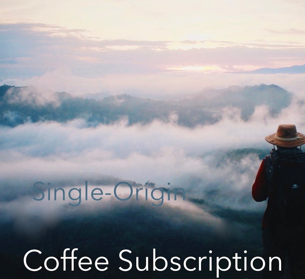 Single Origin Coffee Subscription coffee club man on mountain top looking at clouds.jpeg