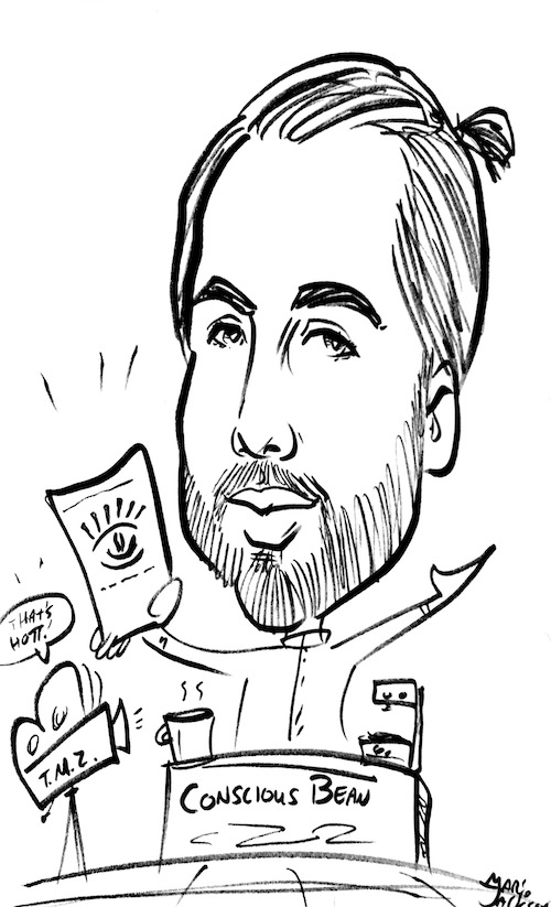 Characture of Founder of Conscious Bean, Matthew Evilsizor- web.jpg