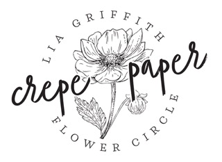 I'm an Ambassador of the Lia Griffith Crepe Paper Flower Circle.