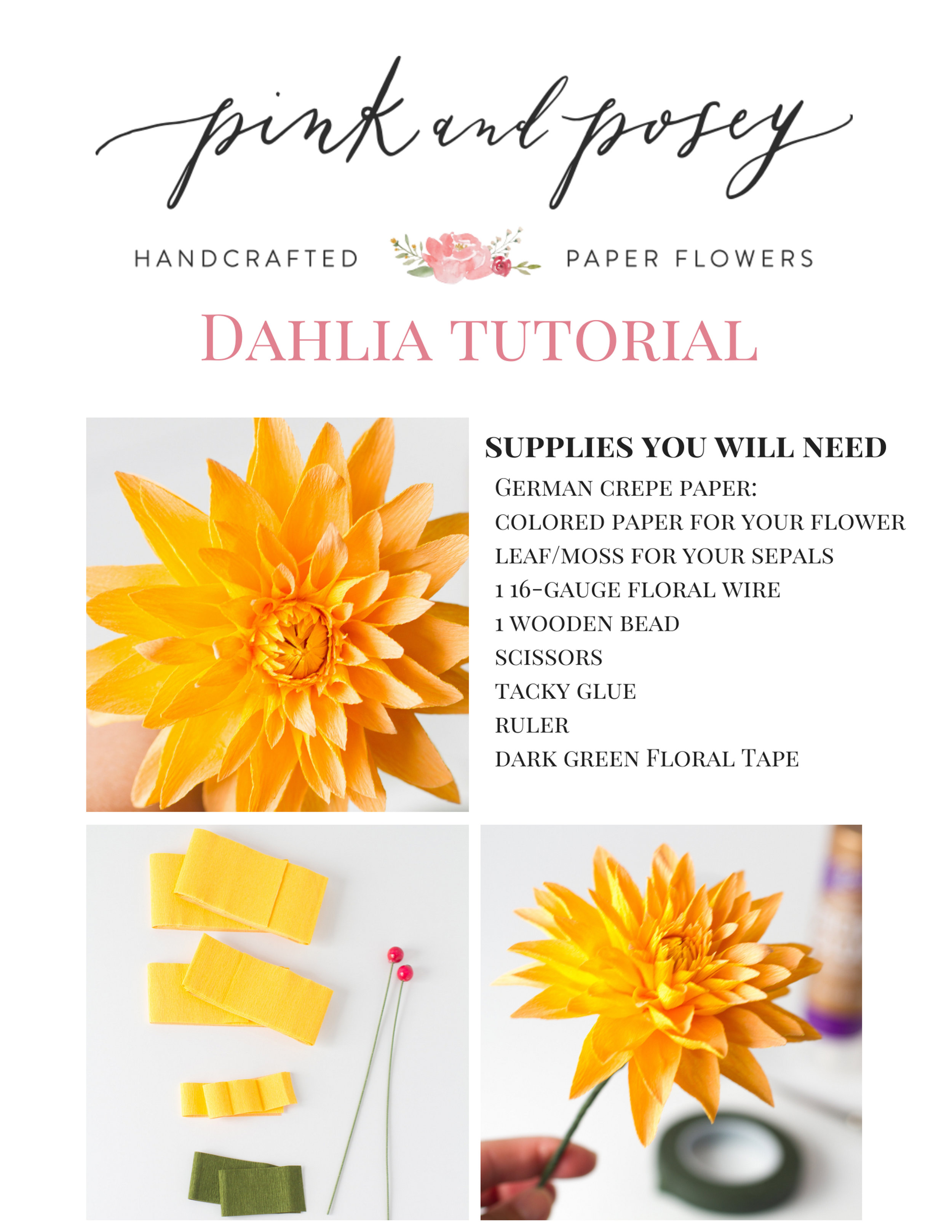 Pink and Posey Dahlia Tutorial pg1.jpg