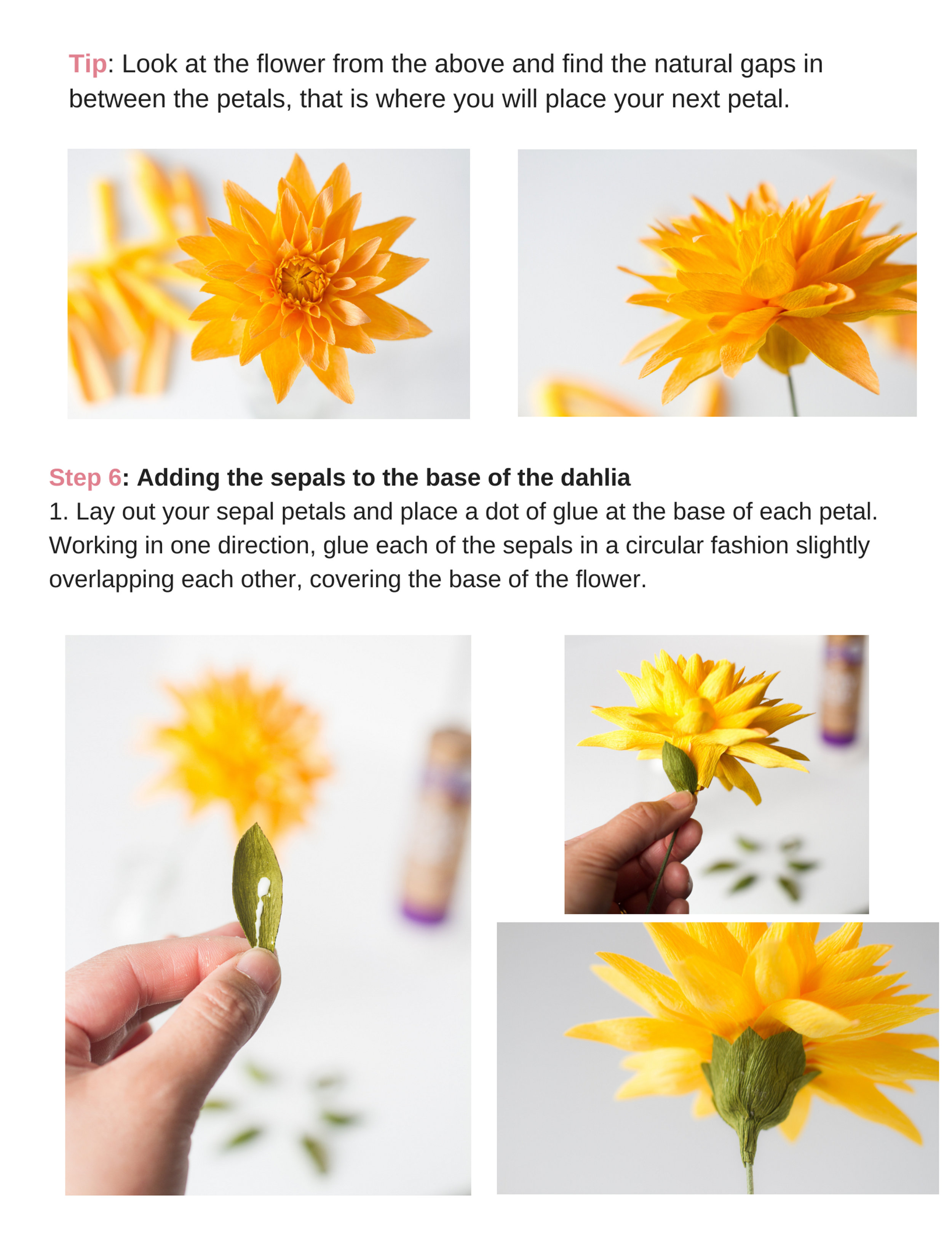 Pink and Posey Dahlia Tutorial pg6.jpg