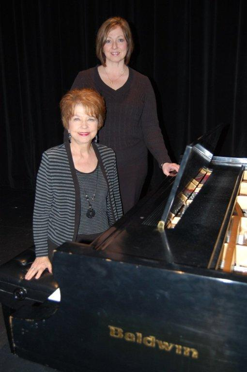 Dr. Sigrid Luther and Kim Keck