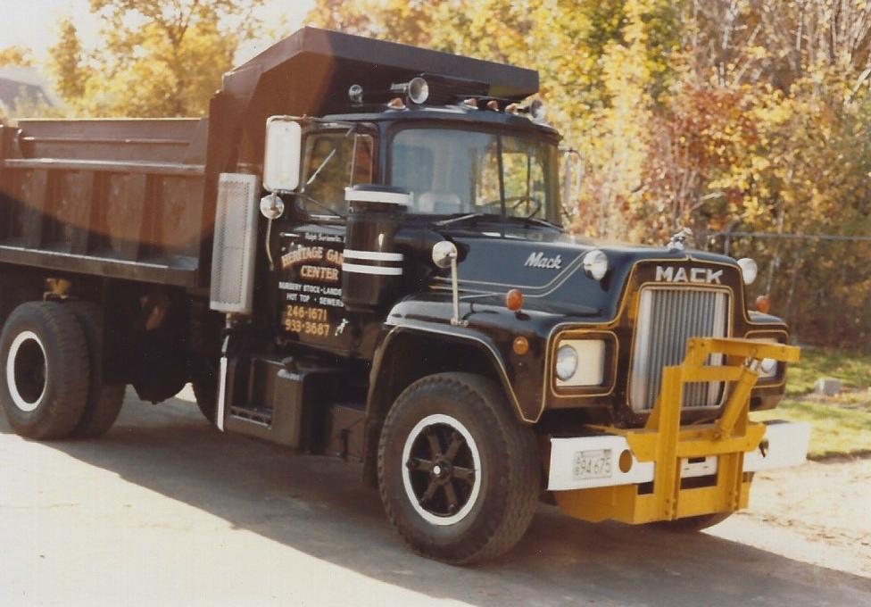 Heritage Garden Center truck in 1979