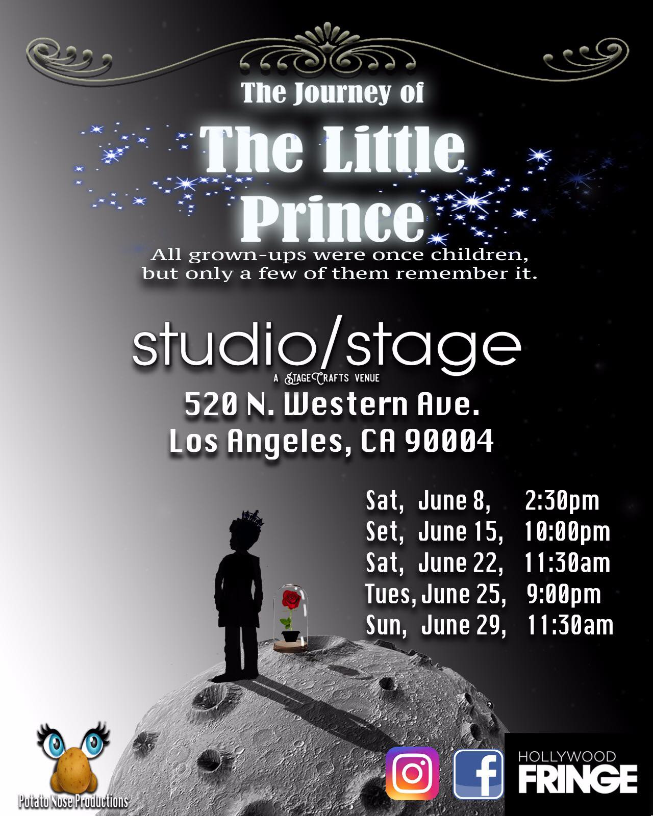 https://www.facebook.com/The-Journey-of-The-Little-Prince-293888181296929/    www.instagram.com/thejourneyofthelittleprince