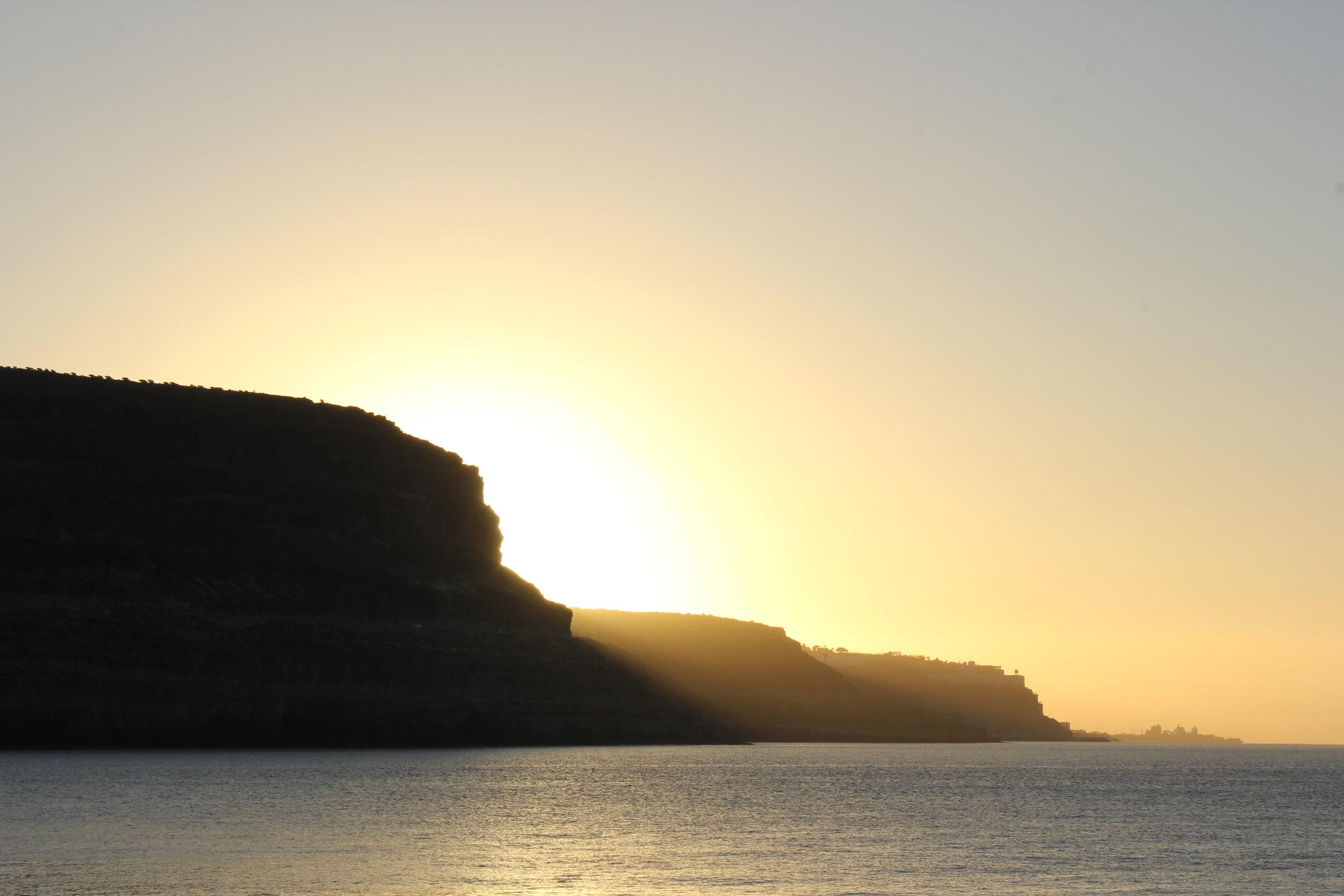 Sunrise in Gran Canaria