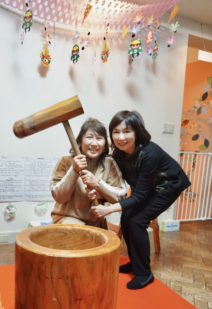 Our Director, Mrs. Yang and Headmistress, Ms. Irene  Together for over 15 years… and still counting!