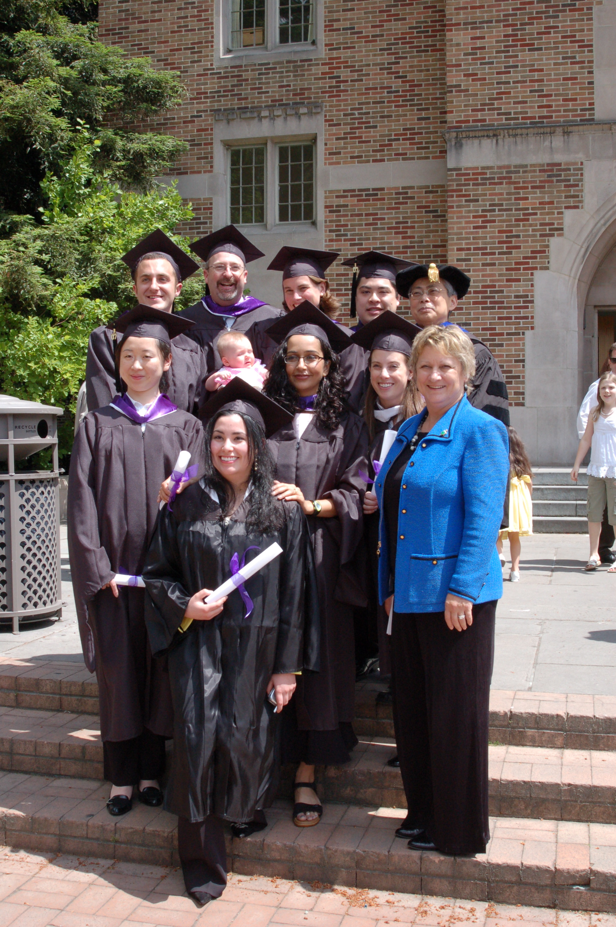 My graduate class from the M.C.D.M program at the University of Washington