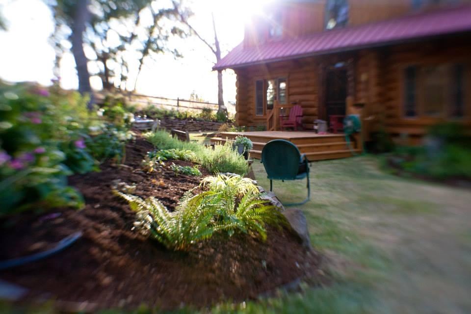 Tara's home in Lyle, WA