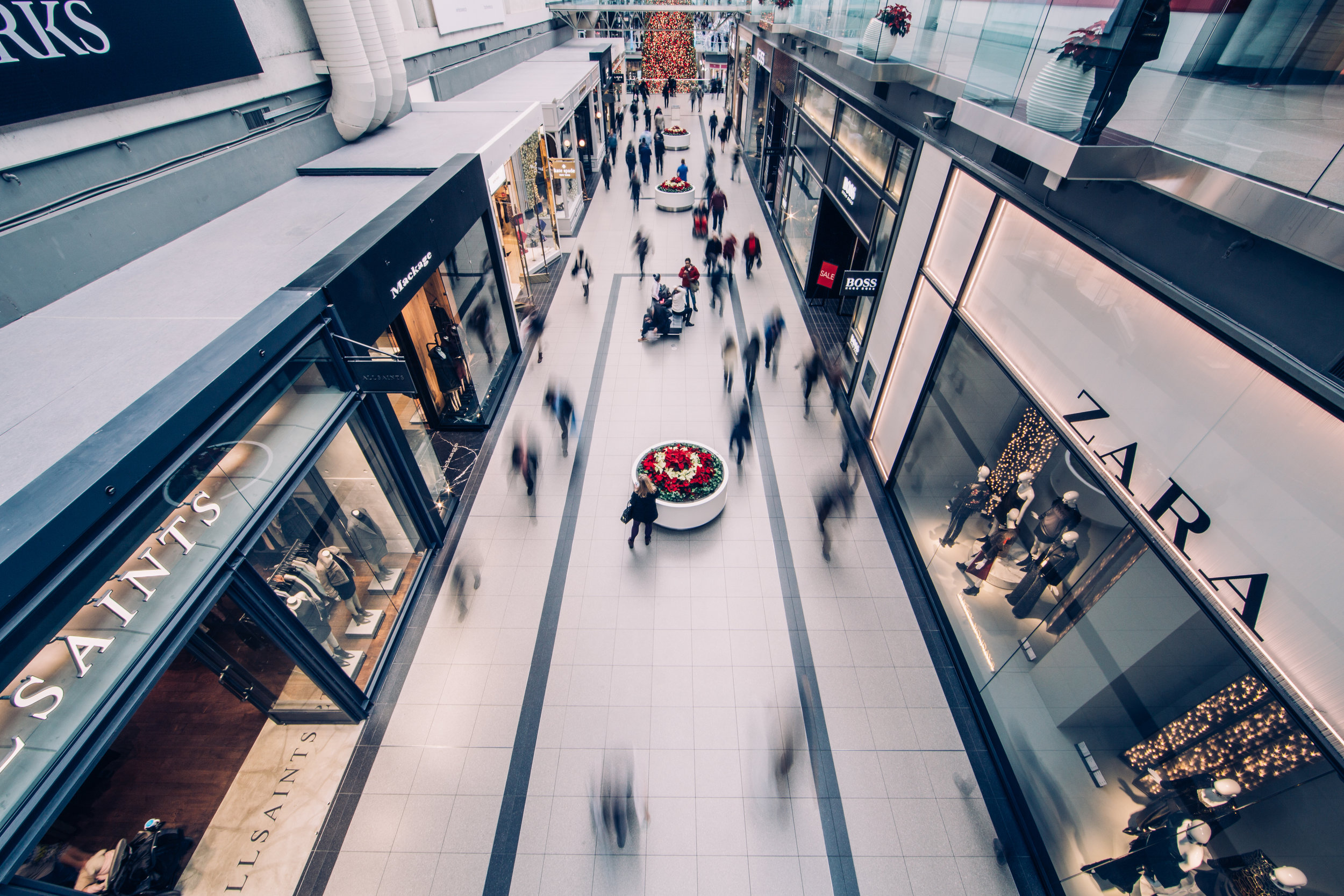 Life, libery and shopping