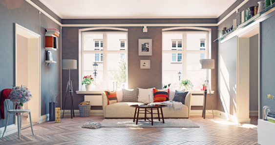 Here's a living room that balances comfort, aesthetics, and a cozy feeling.