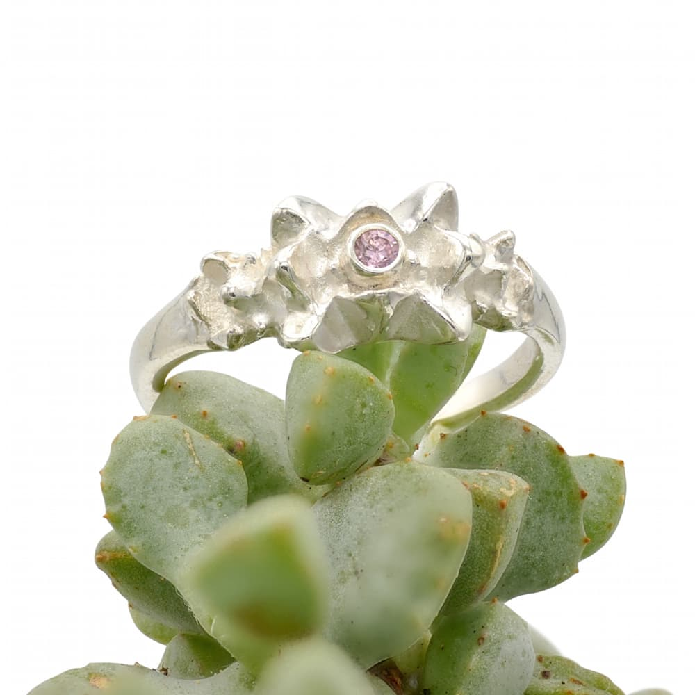 pink ice ring, silver with pink cz - 1.jpg