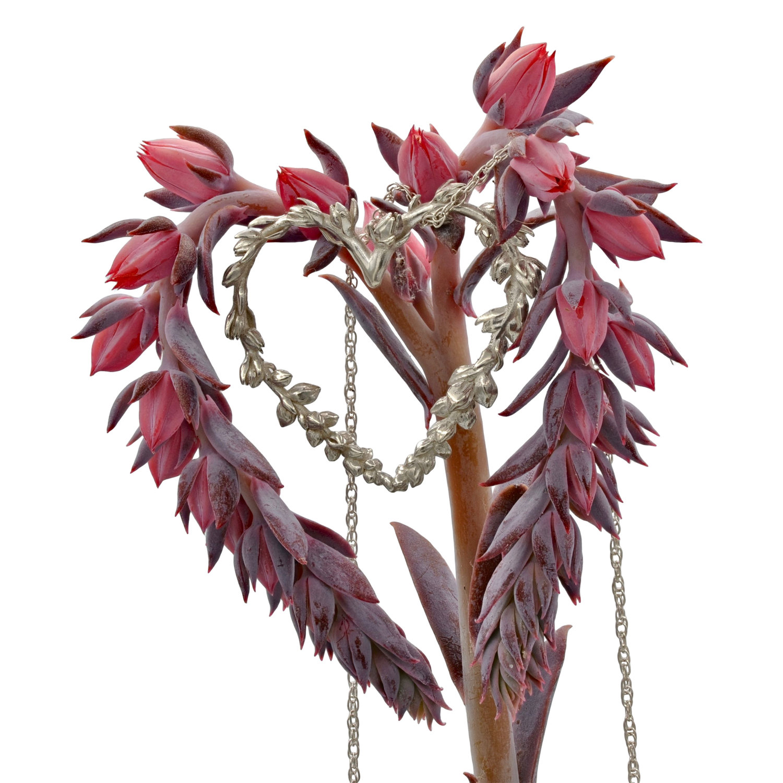 Echeveria Flower Necklace Echeveria Shade Metals