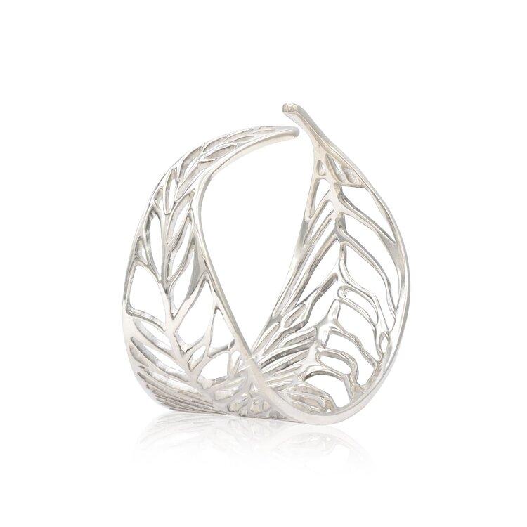 Willow Leaf Cuff Bracelet Salix