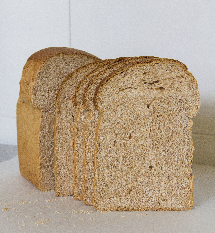 Whole Wheat Bread   | 15 (slice) / 80 (loaf)